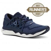 Reebok Custom Floatride Run Running Shoes Womens Collegiate Navy/Bunker Blue/Blue Slate/White CN2587