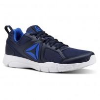 Reebok 3D FUSION TR Training Shoes Mens Collegiate Navy/White/Vital Blue CN4856