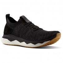 Reebok Floatride RS ULTK Lifestyle Shoes Mens Black/Ash Grey/Coal/Gum CN2238