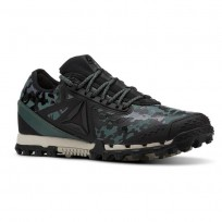 Reebok AT SUPER 3.0 Running Shoes Womens Camo-Black/Alloy/Chalk Green/Parchment CN6125