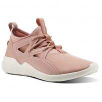 Reebok Cardio Motion Studio Shoes Womens Chalk Pink/Urban Maroon/Chalk CN0732