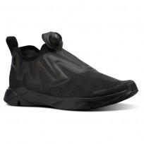 Reebok Pump Supreme Lifestyle Shoes Mens Black/Ash Grey CN5577
