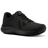 Reebok Walk Ultra 6 DMX MAX RG Walking Shoes Mens Black/Alloy CN0951
