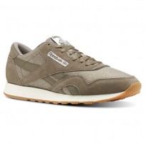 Reebok Classic Nylon Shoes Mens Wthr-Terrain Grey/Chalk CN3343
