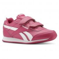 Reebok Royal Classic Jogger Shoes Girls Pink/White CN4936