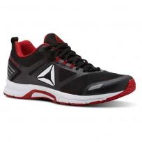 Reebok Ahary Runner Running Shoes Mens White/Black/Primal Red CN5333