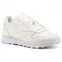 Reebok Classic Leather Shoes Womens White CN0770