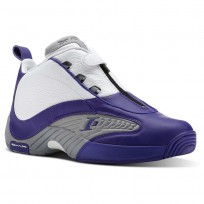 Reebok Answer IV PE Shoes Mens Team Purple/Flat Grey/White BS9847