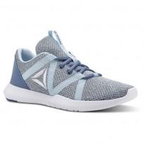Reebok Reago Training Shoes Womens Blue Slate/Dreamy Blue/White CN5188