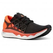 Reebok Floatride Run Running Shoes Mens Black/Atomic Red/White/Ash Grey CN5228