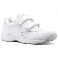 Reebok Walk Walking Shoes Mens White/Steel BS9530
