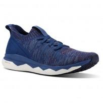 Reebok Floatride RS ULTK Running Shoes Mens Bnkr Blue/Rstc Wne/Blue Slte/Skl Gry/Col Navy CN2570