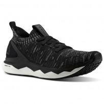 Reebok Floatride RS ULTK Lifestyle Shoes Mens Black/Skull Grey/Coal CN2236