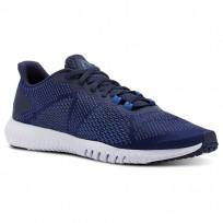 Reebok Flexagon Training Shoes Mens Collegiate Nvy/Bunkerblue/Spiritwht/Vitalblue CN2595