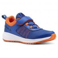 Reebok Road Supreme Running Shoes Boys Coll Royal/Bright Lava/Wht/Black CN4206