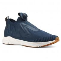 Reebok Pump Supreme Lifestyle Shoes Mens Utl-Mineral Blue/Prchmnt/Spr Ntrl/Chlk/Ch Grn CN4666
