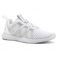 Reebok Reago Training Shoes Mens White/Skull Grey/Porcelain/Field Tan CN7189