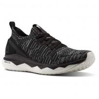 Reebok Floatride RS ULTK Lifestyle Shoes Womens Black/Skull Grey/Coal/Chalk CN2235