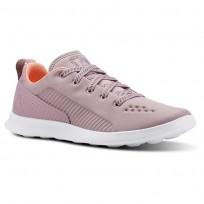 Reebok Evazure DMX LITE Walking Shoes Womens Infused Lilac/Digital Pink/White CN4539