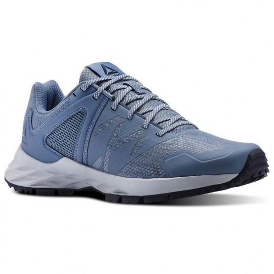 Reebok Astroride Trail Walking Shoes Womens Blue Slate/Cloud Grey/Collegiate Navy CN4581