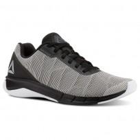 Reebok Flexweave Run Running Shoes Mens White/Alloy/Tin Grey/Black CN5097