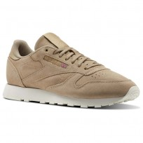 Reebok Classic Leather Shoes Mens Duck Season/Chalk CM9608
