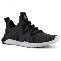 Reebok Reago Training Shoes Mens Black/Ash Grey/Porcelain/Foggy Grey CN4628