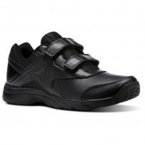 Reebok Walk Walking Shoes Mens Black/Black BS9528
