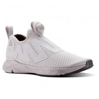 Reebok Pump Supreme Lifestyle Shoes Mens Reveal-Lavender Luck/Rustic Wine/Ash Grey CN4758
