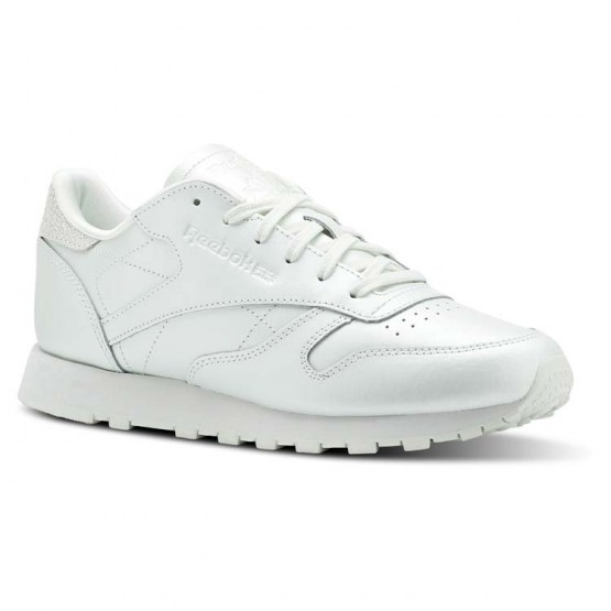 Reebok Classic Leather Shoes Womens Mid-Opal CN5468