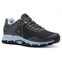 Reebok Ridgeride Trail 3.0 Walking Shoes Womens Ash Grey/Dreamy Blue/Black CN3483