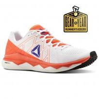 Reebok Floatride Run Running Shoes Mens Atomic Red/White/Blue Move/Black CN4682