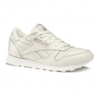 Reebok Classic Leather Shoes Womens Trend X-Chalk/Infused Lilac DV4888