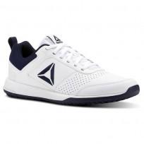 Reebok CXT Training Shoes Mens White/Collegiate Navy/Silver CN4678