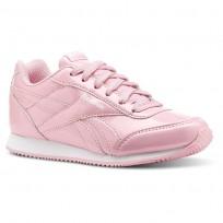 Reebok Royal Classic Jogger Shoes Girls Ptnt-Light Pink/White CN4958