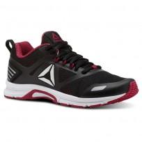 Reebok Ahary Runner Running Shoes Womens White/Black/Rugged Rose CN5346