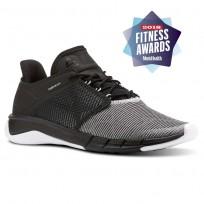 Reebok Fast Flexweave Running Shoes Womens Black/Dreamy Blue/White/Stark Grey CN2535