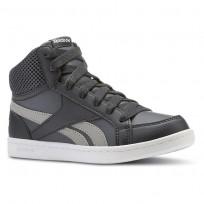 Reebok Royal Prime Shoes Boys Gravel/Graphite/Carbon/White CN4757