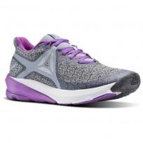 Reebok OSR Running Shoes Womens Meteor Grey/Cloud Grey/Vicious Violet BS8600