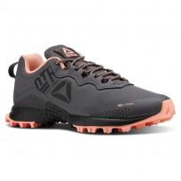 Reebok All Terrain Running Shoes Womens Ash Grey/Digital Pink/Black CN5245