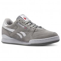Chaussure Reebok Phase 1 Pro Homme Grise/Blanche CN4981