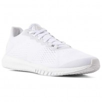 Reebok Flexagon Training Shoes Mens White/Spirit White/Skull Grey CN8532