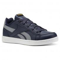 Reebok Royal Prime Shoes Boys Collegiate Navy/Flint Grey/Fierce Gold CN4762