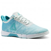 Reebok Speed Training Shoes Womens Blue Lagoon/Solid Teal/Opal/White CN0994