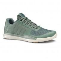 Reebok Sprint TR Training Shoes Mens Chalk Green/Mineral Blue/Parchment/Gum CN4894