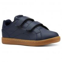 Reebok Royal Comp Shoes Boys Outdoor-Collegiate Navy/Graphite/Dark Gum CN4797