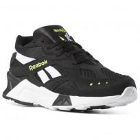Reebok Aztrek Shoes Mens Bw-Black/White/Solar Yellow CN7188