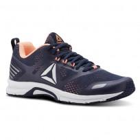 Reebok Ahary Runner Running Shoes Womens White/Collegiate Navy/Digital Pink CN5345