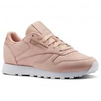 Reebok Classic Leather Schuhe Damen Rosa/Weiß CN1504