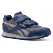 Reebok Royal Classic Jogger Shoes Kids Mesh-Bunker Blue/Shark/Cool Sahdow/Cloud Grey CN4953